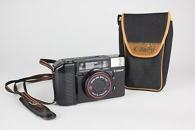 Canon Sure Shot AF35mm II 38mm f/2.8 Autoboy Focus Point and Shoot Camera W/ Bag