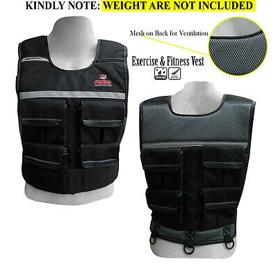 Weight Vest Exercise Gym Fitness Running Crossfit Adjustable Weight Loss Jacket