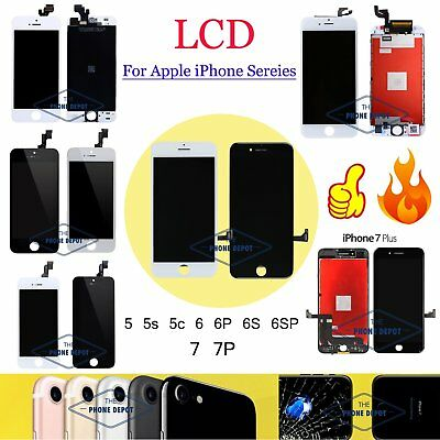 For iPhone 5 5S SE 5C 6 6S 7 Plus LCD Touch Screen Display Digitizer Replacement