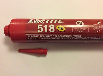 GENUINE Loctite 518 Multi Gasket  Metal Flange Sealant  expiry 04-2019 300ml NEW