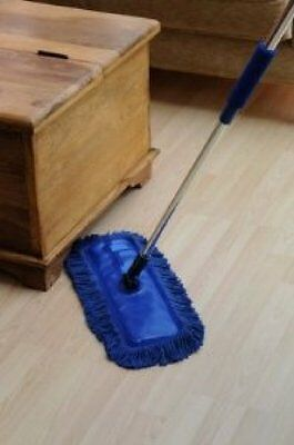 Home Valet Californian Waxed Flexible Floor Duster With Extendable Handle