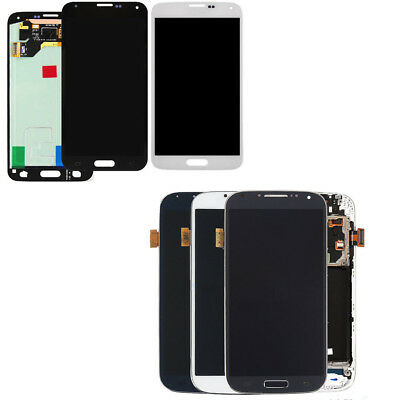 US New LCD Screen Display Touch Digitizer Assembly For Samsung Galaxy S4 S5 G900