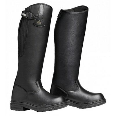 Mountain Horse Rimfrost Rider III Riding Black Tall Boots NEW Men's Women's