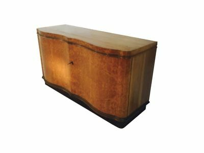 Art Deco Sideboard made of Amboina Rootwood