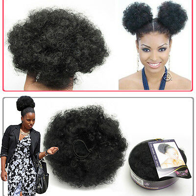 Afro Puff String Janet Collection Drawstring Ponytail Clip In For Black Women 1#