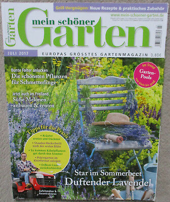 zeitschrift mein sch ner garten august 2017 europas gr sstes gartenmagazin eur 1 39. Black Bedroom Furniture Sets. Home Design Ideas