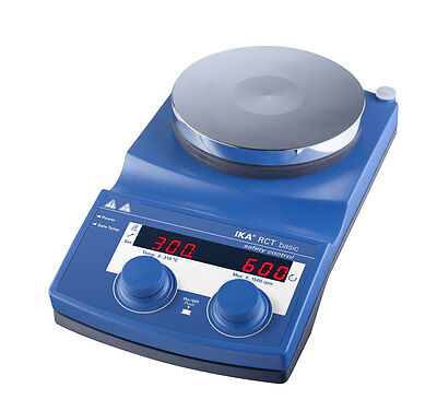 IKA , Magnetic Stirrer with heating plate RCT Basic , NEW