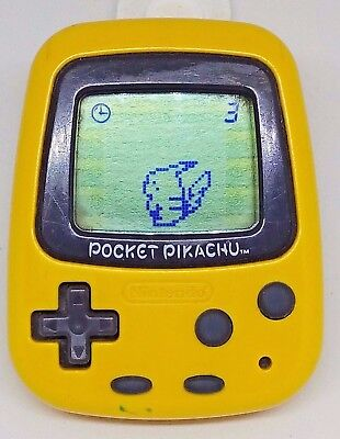 Nintendo Pokemon Pocket Pikachu Pedometer Japan Tested and Working  Virtual Pet