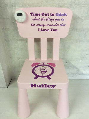 Personalised Time Out Naughty Step Kids Chair
