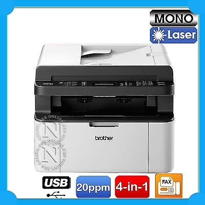 Brother MFC-1810 4-in-1 20PPM A4 Mono Laser MFC Printer+ADF /w TN1070 Toner