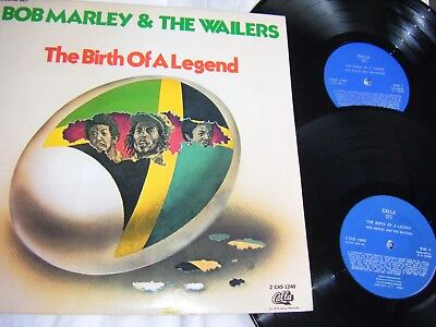 Bob Marley And The Wailers - 2 X Lps The Birth Of A Legend  N/mint.
