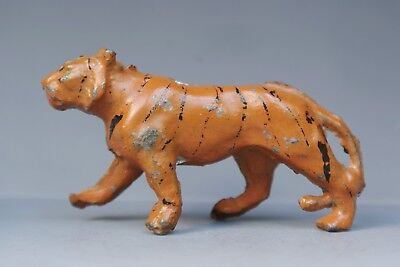 PIXYLAND (KEW) PRE-WAR 1920's LEAD 'WHIPSNADE' ZOO ANIMALS - TIGER..!!