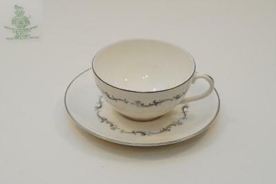 4 Royal Doulton CORONET Cup Cups & Saucer Saucers