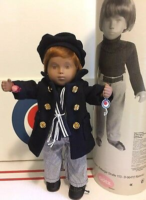 "2001 GOTZ SASHA CLAUDIUS 13"" Toddler Limited Edition *MINTY* with Original Tube!"