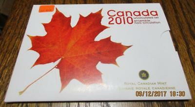 Canada 2010 Uncirculated 7 Coin Mint Set.  As issued.                     TF-Z12