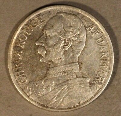 1905 Danish West Indies 20 Cents/1 Franc Nice      ** FREE U.S SHIPPING **