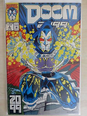 """Doom 2099 Issue 2 """"First Print"""" - 1993"""