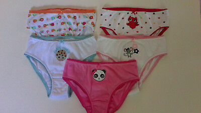 NWT Gymboree lot of 5 pair of GIRLS UNDERWEAR 7 8 years
