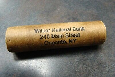 1917S/1898 Original Shotgun Vintage Roll of Pennies from Wilber National Bank