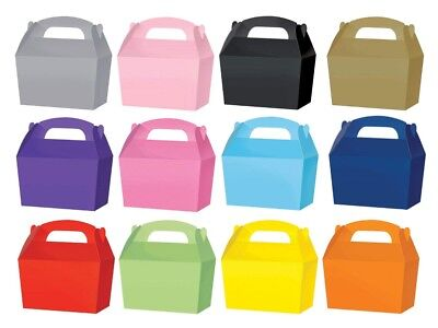 Small Candy Sweet Loot Boxes -  Gift Party Box - Choose From 13 Colours