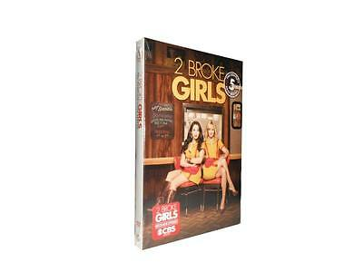 2 Broke Girls: The Complete Fifth Season 5 (DVD, 2016, 3-Disc Set)