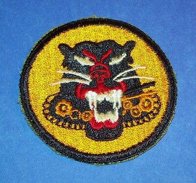 Original Cut-Edge Ww2 Tank Destroyer Forces 6 Wheel Factory Error Patch!
