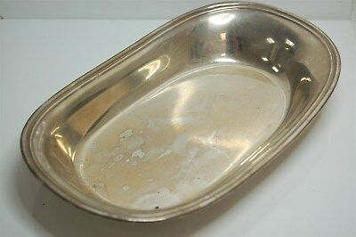 "Vintage International Solid Sterling Silver Lord Saybrook 10"" Tray Platter 234g"