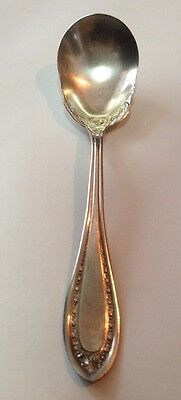 Vintage Coin Silver Xtra Plate Spoon
