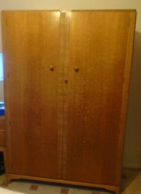 Wardrobe Tallboy And Dressing Table 1950's