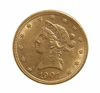 1901 Gold $10 Liberty Head Coin