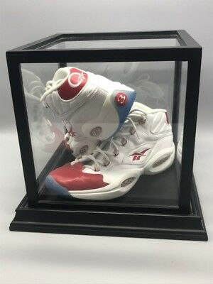 Allen Iverson Signed Reebok Shoes, Red Toe, NBA, Sports (S09070637)