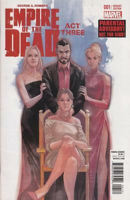 George Romero Empire Of The Dead Act 3 #1 1/15 Phil Noto Varant Amc Show In Work