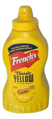(1€/100g) French's Classic Yellow Mustard 226g