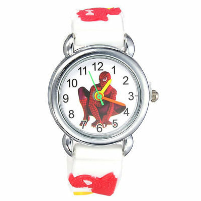 Spiderman Children's Analogue Wrist Watch. Different Colours Available Boy Gift