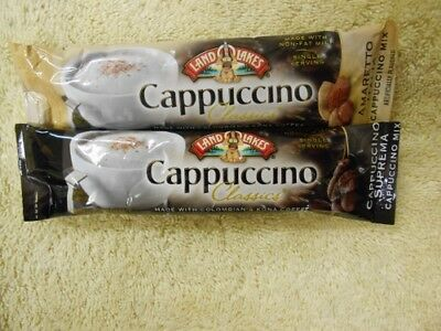 Land O Lakes Instant Cappuccino Amaretto Italia And Cap Suprema 36 Packets