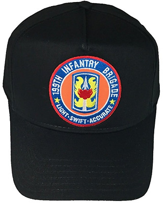 e34c23576cd Us Army 199Th Infantry Brigade Hat Cap Veteran Light Fort Benning  Redcatchers