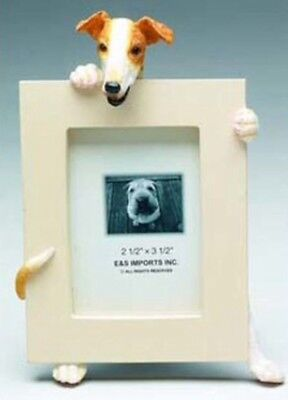 NIB! E&S Imports PETS Greyhound Picture Frame Animal Gift Dog Lover