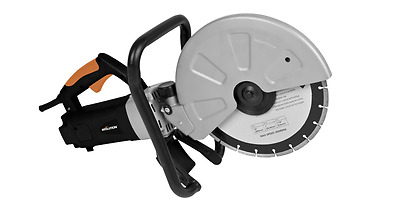 Electric Disc Cutter 12-Inch Diamond Blade 4-Inch Depth Robust & Versatile Uses