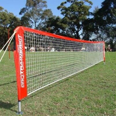 NEW Pro Sports Soccer Tennis Goal Net 4.8m Easy DIY Setup Portable Outdoor