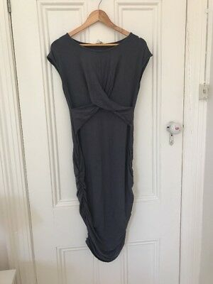 Ripe Maternity Dress In grey Sz m