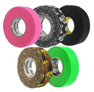Reebok Cotton Ice Hockey Skate Toe Guard Protection Tape - 18m x 24mm