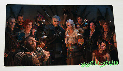 F2146 Free Mat Bag The Witcher 3 Wild Hunt Large Game Mouse Pad TCG CCG Playmat