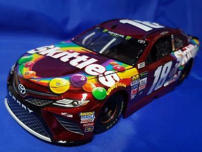 "2017 Kyle Busch Skittles 1:24th Color Chrome ""Gen 6"" Toyota Camry NASCAR"