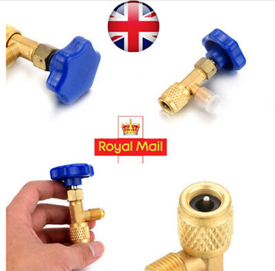 Refrigeration R134a Can Tap Valve Bottle Opener A/C Hoses & Fittings Car Auto