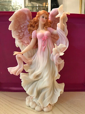 "Seraphim Classic Nature's Angel Vanessa 1996  #76660 Limited Edition 12"" Tall"