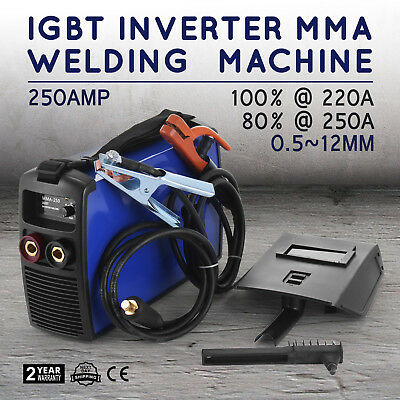 Inverter Welding Machine 250A MMA Arc E-HAND Welder Inverter 50HZ/60HZ 230V