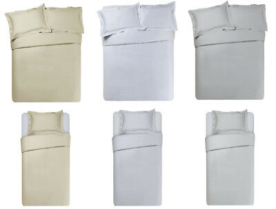 Heart of House 400 Thread Count Bedding Set - Choice of Size and Colour