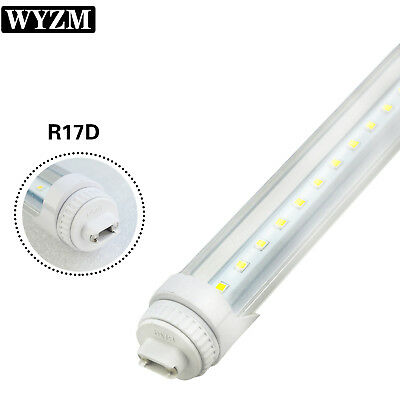 8Pack 40W R17D 8FT T12 LED Tube Light Replacement For F96T12/HO 110W Fluorescent