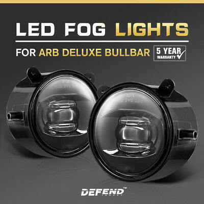 2x 30W ARB Bullbar Led Fog Lights Driving 4×4 Truck Lamp