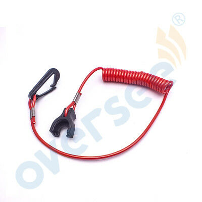 Safety Stop Lanyard 176288 For Johnson Evinrude Outboard / OMC Inboard Engine